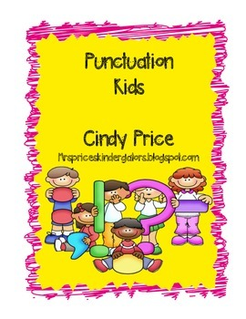 Punctuation Kids Posters