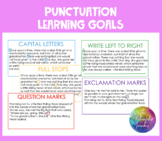 Punctuation Learning Goals