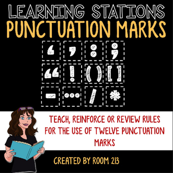 Punctuation Learning Stations