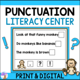 Punctuation Activity (Literacy Center)