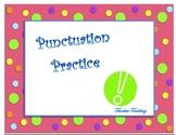 Punctuation Mark Matching