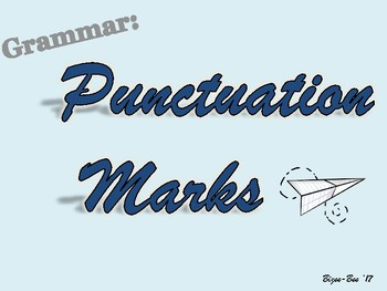 Punctuation Marks NO PREP