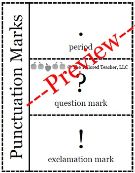 Punctuation Marks (Bilingual)