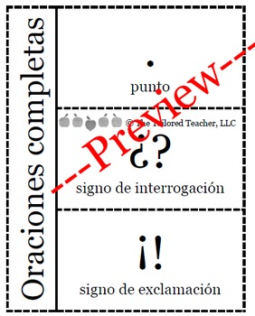 Punctuation Marks (Bilingual)