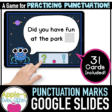 Punctuation Marks - Google Slides Activity - Distance Learning