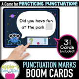 Punctuation Marks - Grammar | Boom Cards™ - Distance Learning