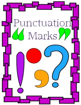 Punctuation Marks - Learn About Them