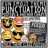 Punctuation Marks Posters & Anchor Charts Emoji Theme Clas