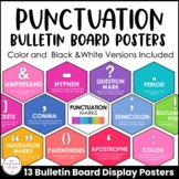 Punctuation Marks Posters: Visual Aid - Bulletin Board Dis