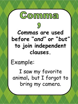 Punctuation Marks St Patrick's Day Theme