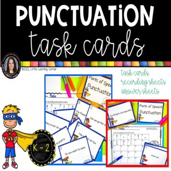Punctuation Marks ~ Task Cards Writing Center
