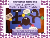 Punctuation Marks & Type of Sentences English & Spanish Cr