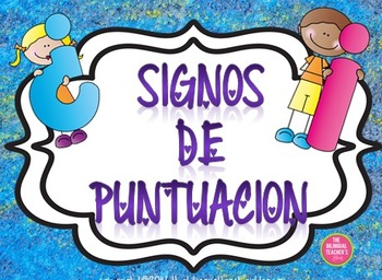 Punctuation Marks in Spanish