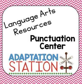 Punctuation Match Up Center