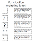 Punctuation Matching Is Fun!