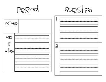 Punctuation Mini-Book