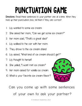 Punctuation Mini Bundle