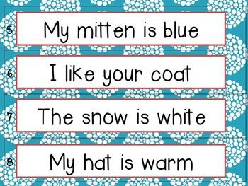Punctuation Mitten Match