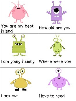 Practice Punctuation with the Punctuation Monsters!
