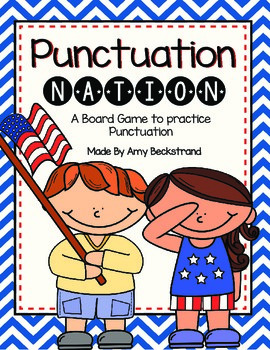 Punctuation Nation Board Game