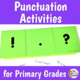 Punctuation Practice for Period, Exclamation Mark, and Question Mark