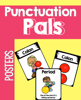 Punctuation Pal Posters