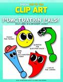 Punctuation Pals: Digital Cup of Tea Clipart