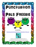 Punctuation Pals Freebie