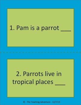 Punctuation Parrots
