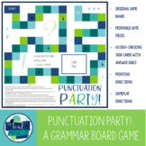 Punctuation Party Board Game: Semicolons & Commas