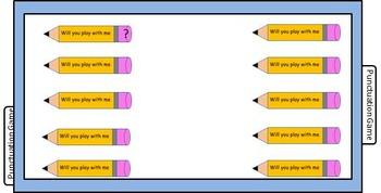 Punctuation Pencil Game