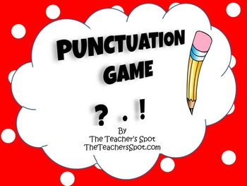 Punctuation Pencil Game
