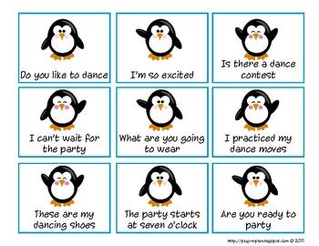 Punctuation Penguins Write Around the Room