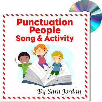 """Punctuation People"" - MP3 Song w/ Lyrics & Activity Teach"