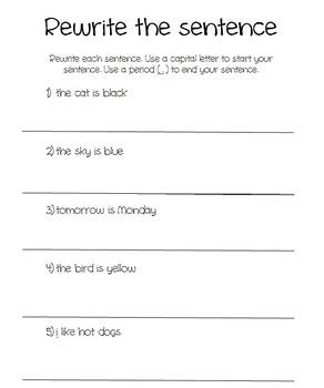 Punctuation - Period