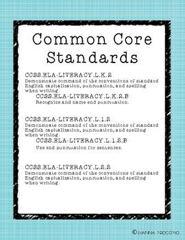 {CCSS.ELA-Literacy.L.2} Punctuation Petals: A Punctuation Sort