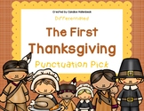 The First Thanksgiving Punctuation Pick! Sentence Practice
