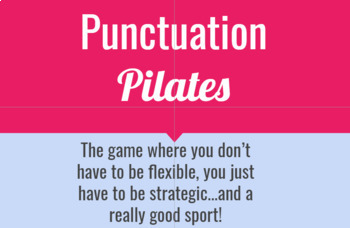 Punctuation Pilates Game