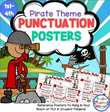 Punctuation Poster - Pirate Theme