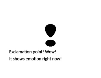 Punctuation Poem: Learn Punctuation today!