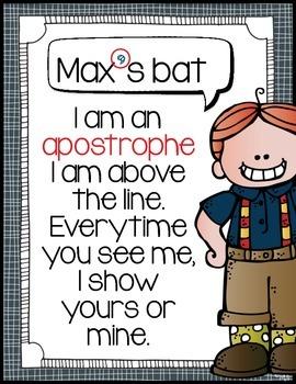 Punctuation Poem Posters