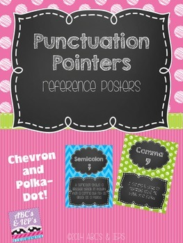 Punctuation Pointers ~ Classroom Posters