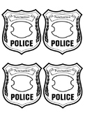 Punctuation Police Badge