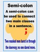 Punctuation Poster Display