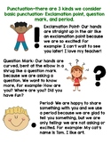 Punctuation Poster/Hand out