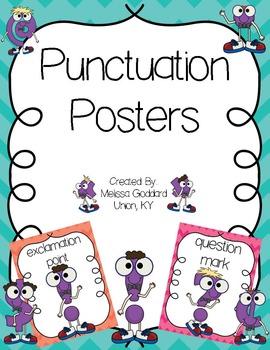Punctuation Poster Set
