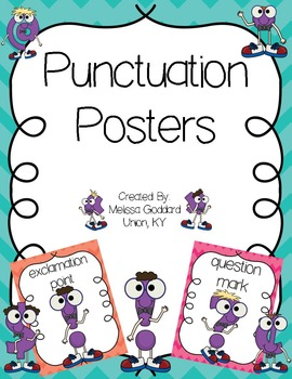 Punctuation Poster Set