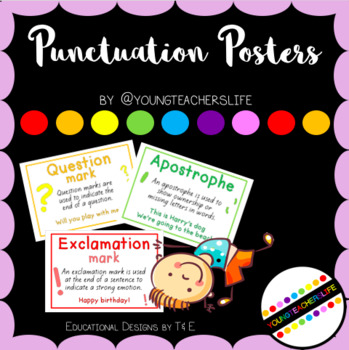 Punctuation Posters