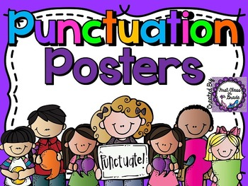 Punctuation Posters (Bright Colors)