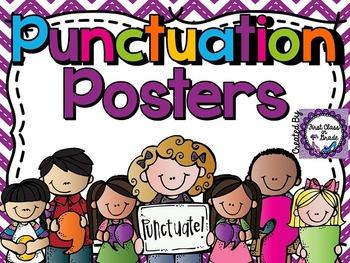 Punctuation Posters (Chevron)